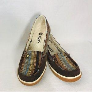 Roxy Banjo Slip-On Shoes - 6.5